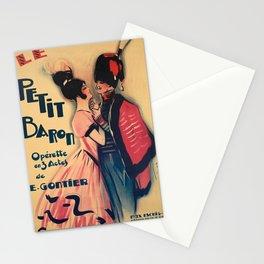 manifesto le petit baron operette de e Stationery Cards