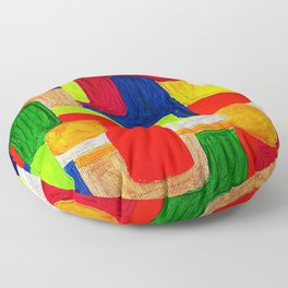 Multi Maze Floor Pillow