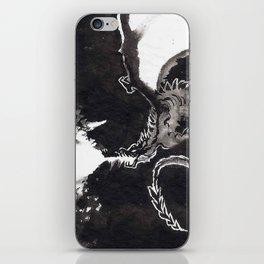 ink dragon iPhone Skin