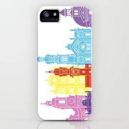 Innsbruck skyline pop iPhone Case