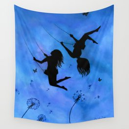 Free As The Wind Wall Tapestry