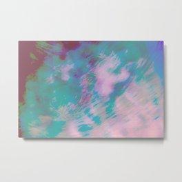 Abstract Motion Metal Print