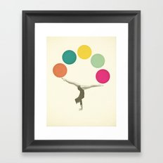 Gymnastics II Framed Art Print