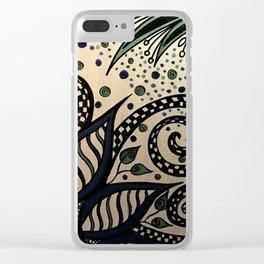 Wonderland II Clear iPhone Case