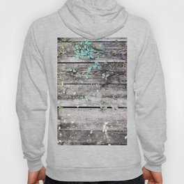 Planks and leaves Hoody