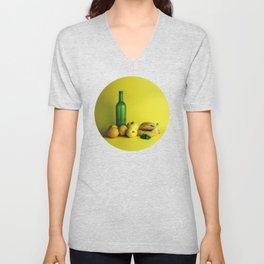 Lemon lime - still life Unisex V-Neck
