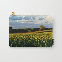 Summer sunflower field Carry-All Pouch