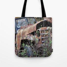 Vintage Jeep Tote Bag