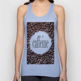 Caffeine Unisex Tank Top