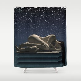 When we finish our work on earth... Shower Curtain