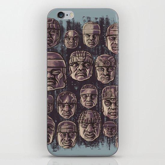 The Olmecs iPhone & iPod Skin