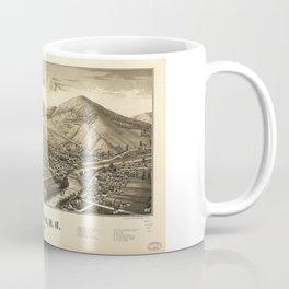 Aerial View of Walton, New York (1887) Coffee Mug