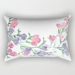 Freesia Frame Rectangular Pillow