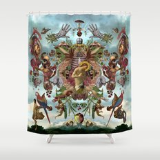 Dangoion Shower Curtain