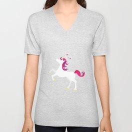 Unicorn magic Unisex V-Neck