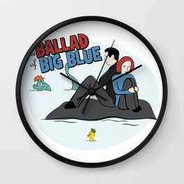 The Ballad of Big Blue Wall Clock