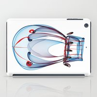 ballon iPad Cases featuring Hot Air Ballon by Ann Garrett
