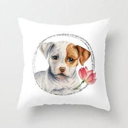 Flower Child 3 Throw Pillow