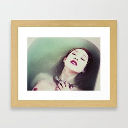 In Sync With Self Framed Art Print
