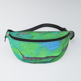 Green Entropy II Fanny Pack