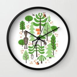 Wildwood Wall Clock