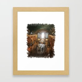 Grand Central Terminal in Digital Oils Framed Art Print