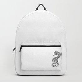 Seahorse Sketch Backpack