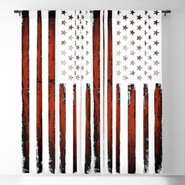 American flag Stars & stripes Blackout Curtain
