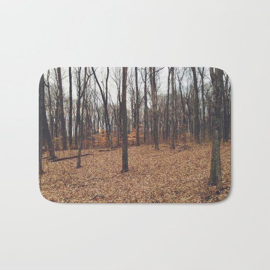 Indiana Forest Bath Mat
