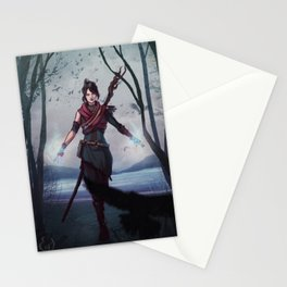 Witch of the Wilds Stationery Cards