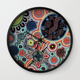 Yindyamarra - Respect the Process Wall Clock