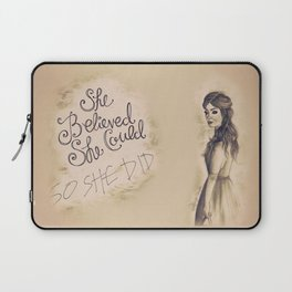 Confidence Laptop Sleeve