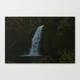 Wahclella Falls x Columbia River Gorge Canvas Print