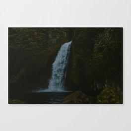 Wahclella Falls x Columbia River Gorge Canvas Print