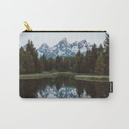 Grand Tetons Relfection at Sunrise Carry-All Pouch