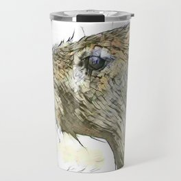 fascinating altered animals - Capybara Travel Mug