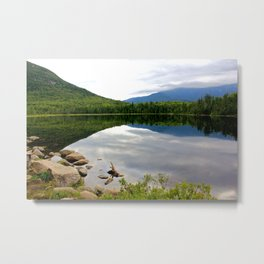 Lonesome Mirror Metal Print