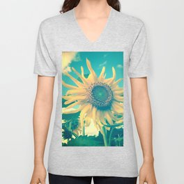 Looking on the Bright Side Unisex V-Neck