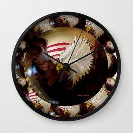 Eagle Group Wall Clock