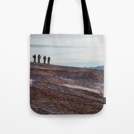 Mars Mission Tote Bag