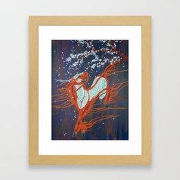 Petal Dance Framed Art Print