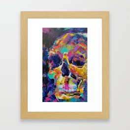 The body is just a prison Framed Art Print