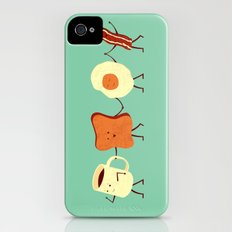 Let's All Go And Have Breakfast Slim Case iPhone (4, 4s)