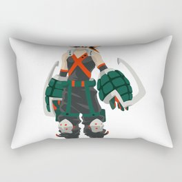 Bakugo Hero Academia Rectangular Pillow