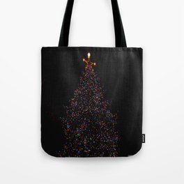 Full Moon Tree Topper (Chicago Christmas/Holiday Collection) Tote Bag
