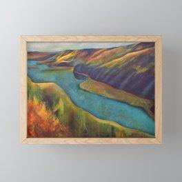 Bird's Eye View Framed Mini Art Print
