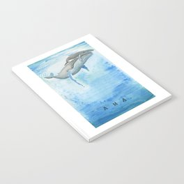 Ama - Whale mom and calf song Notebook