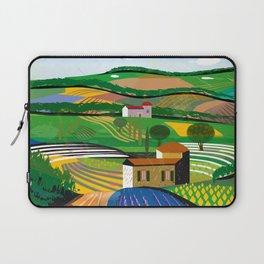 Green Fields Laptop Sleeve