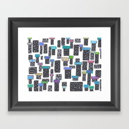 Future Billboards Will Propagate the Words of Chagall, Klee, and Friends Framed Art Print