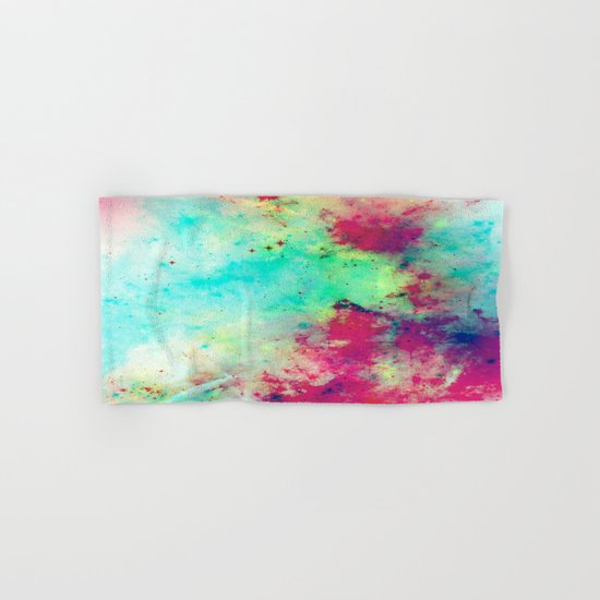 Join The Heavens - Abstract Space Painting Hand & Bath Towel